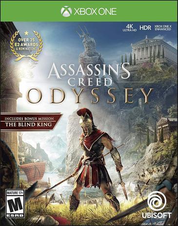 Imagem de jogo xbox one assassins creed odyssey