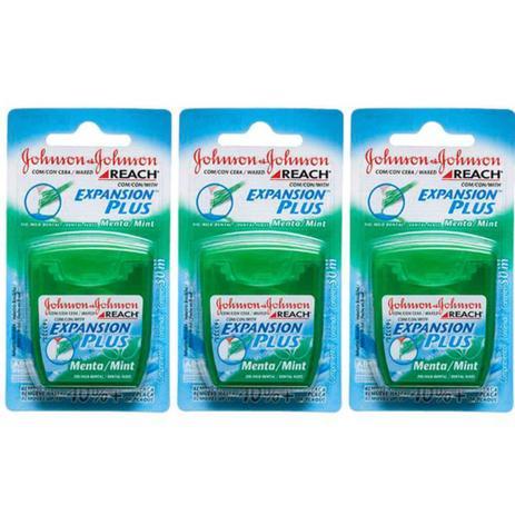 09d09ae60 Johnsons Reach Menta Fio Dental 50m (Kit C 03) - Fio Dental ...