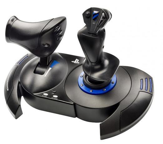 Imagem de Joystick Thrustmaster T. FLIGHT Hotas 4 Compatível com PC e PS4