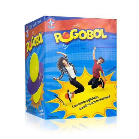 Imagem de Jump BALL Pogobol ROXO/VERDE