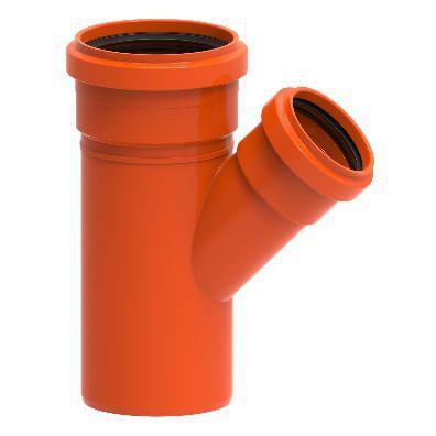Imagem de Junção Simples para Esgoto de PVC DN 75mm Redux Tigre