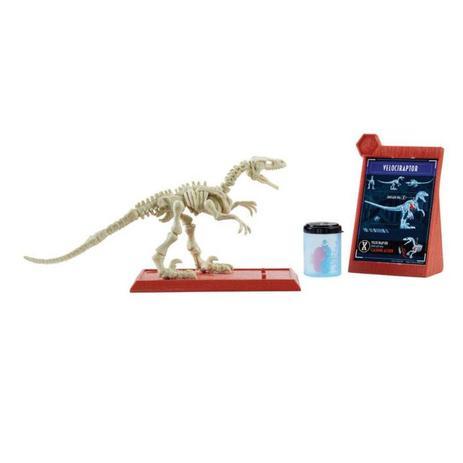 Imagem de Jurassic World Esqueletos Jurássicos Velociraptor - FTF03 - Mattel
