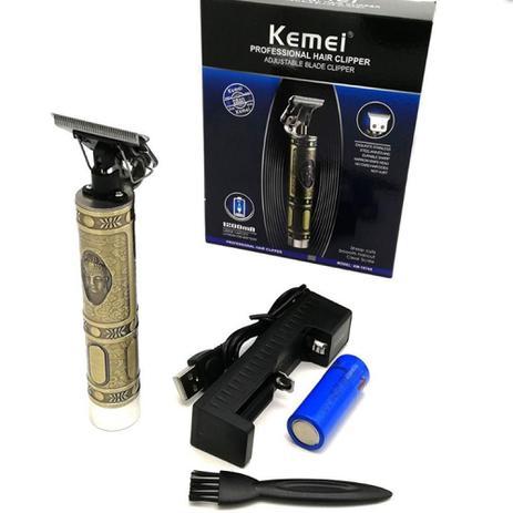 Imagem de Kemei 1974A Aparador de cabelo elétrico Máquina de cortar cabelo profissional