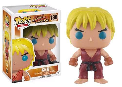 Imagem de Ken 138 - Street Fighter - Funko Pop! Games
