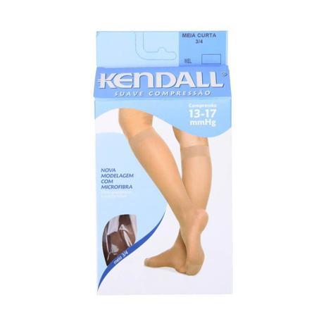 5a16e10bd Kendall 2233 Meia 3 4 Suave Compressão Mel G - Meia de Compressão ...