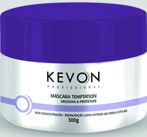 8e71ef2b66 Kevon - Máscara Temptation Arginina e Proteínas 300 g - Máscara ...