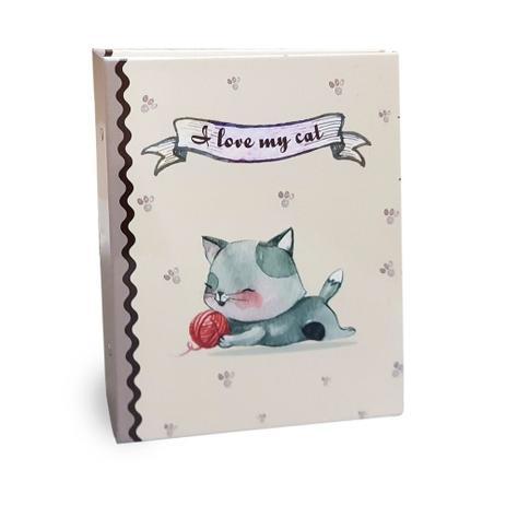 Imagem de Kiit 2 Álbuns Pet Lovers 160 Fotos 10x15 Ical Love Cat