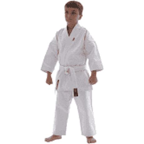 Imagem de Kimono Karate Torah Infantil Branco Tamanho JR