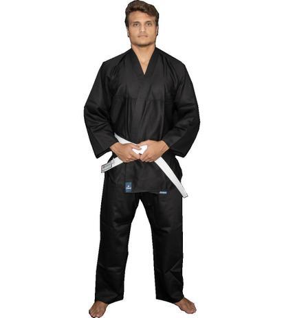 Imagem de Kimono Kung Fu / Hapkido / Ninjutsu - Adulto - Preto - Unissex - Torah