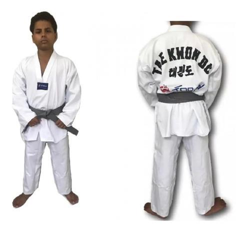 Imagem de Kimono taekwondo jr branco torah