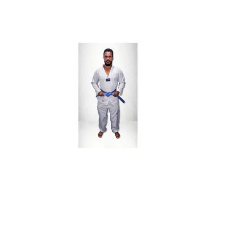Imagem de Kimono Taekwondo Olympic Torah Adulto - Gola Branca