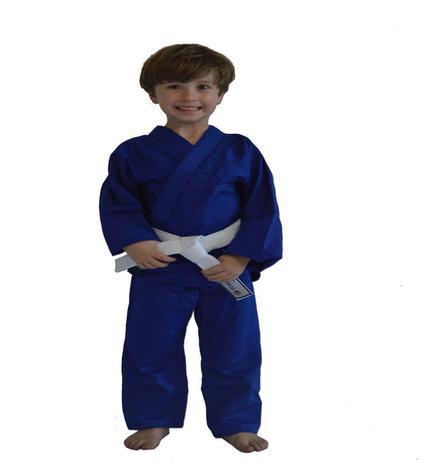 Imagem de Kimono Torah Iniciante Judo / Jiu Jitsu Azul - Infantil