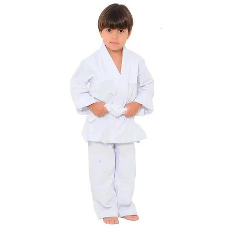 Imagem de Kimono Torah Iniciante Judo / Jiu Jitsu Branco - Infantil