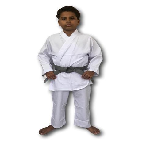 Imagem de Kimono Torah Karatê Reforçado Branco - Infantil
