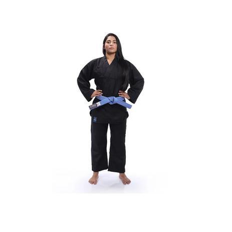 Imagem de Kimono Torah Kung Fu Reforçado Preto - A5