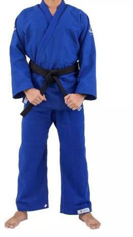Imagem de Kimono Torah Reforçado Plus Jiu Jitsu A4 - Azul