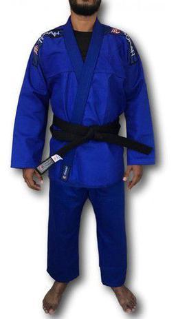 Imagem de Kimono Trançado Flex Jiu Jitsu Adulto Azul Torah