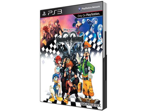 Kingdom Hearts HD 1.5 ReMIX para PS3 - Square Enix