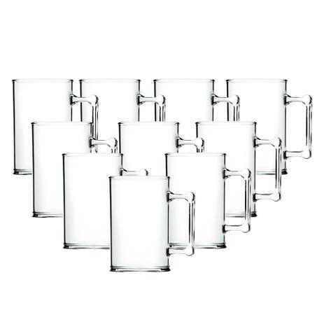 Imagem de Kit 10 Canecas de Chopp Acrilicas Cristal para Transfer Laser 300ml