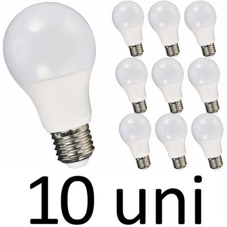 Imagem de Kit 10 Lâmpada Led 12w Bulbo E27 Bivolt Casa Comércio Loja