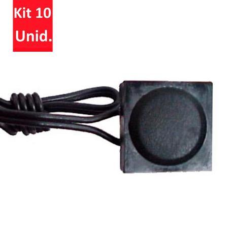 Imagem de Kit 10 Unidades - Chave Comutadora para Acionamento com Click - DNI 5004