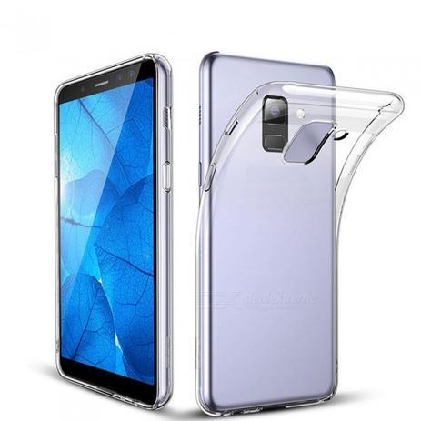 36340a135 Kit 2 Em 1 Película De Gel + Capa Cristal Para Celular Samsung Galaxy J6  2018 - Maston