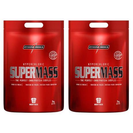 a8c28301b Kit 2 Hipercalóricos Super Mass 3Kg cada Chocolate - Integralmédica ...