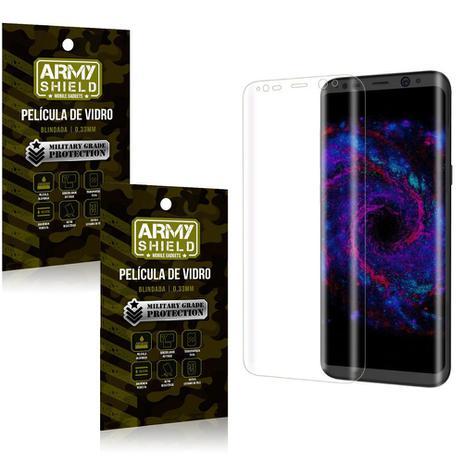 Imagem de Kit 2 Películas de Vidro Curvada Samsung S8 - Armyshield