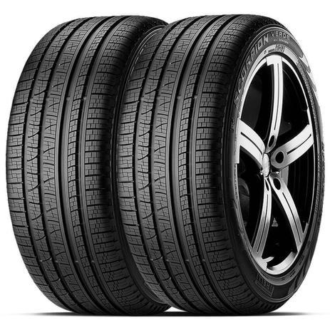 Imagem de Kit 2 Pneu Pirelli Aro 16 215/65r16 102h Xl S-veas Scorpion Verde