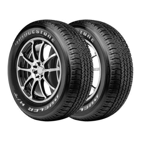 90c3f83f2 Kit 2 Pneus Bridgestone Aro 16 215 65R16 Dueler H T 684 98T - Pneu ...