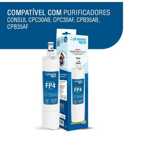 ab0e65b4e KIT 2 Refil FP4 p  purificador Consul Facilite Bem estar - Planeta água