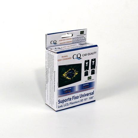 Imagem de Kit 2 Suporte Fixo universal TV Led 4K LCD Plasma Samsung Lg Sony AOC - Todas as marcas até 100