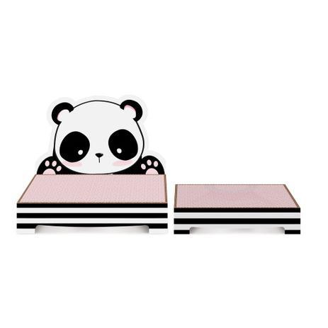 Imagem de Kit 2 Suportes P/Doces Panda Decoração Festas