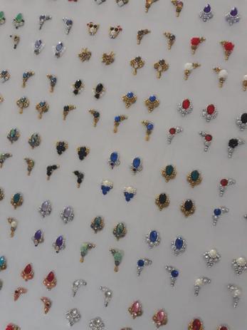 Imagem de Kit 20 pares de jóias para unhas