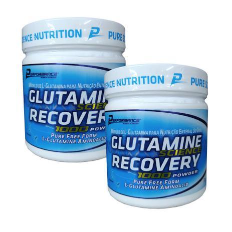 Imagem de Kit 2x Glutamina Science Recovery 300g Performance Nutrition