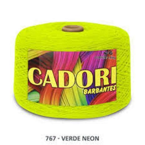Imagem de kit 3 Barbante Cadori N06 - 1,8KG Verde Neon
