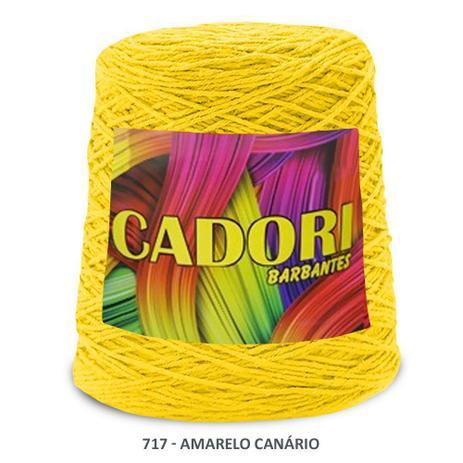 Imagem de kit 3 Barbante Cadori N06 - 700m Amarelo Canario