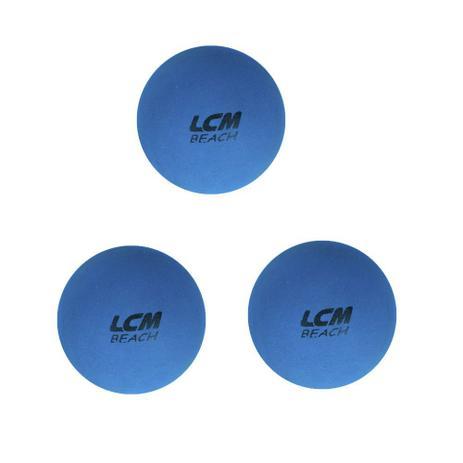 Imagem de Kit 3 Bolas De Frescobol Lcm