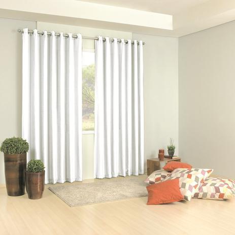 Kit 3 cortinas barcelona 300x250m cores admirare cortina para sala magazine luiza - Cortinas infantiles barcelona ...