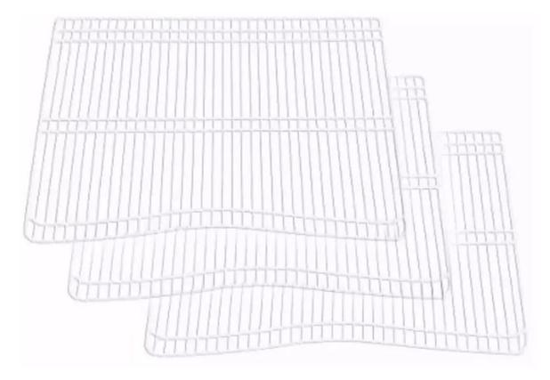 Imagem de Kit 3 prateleiras electrolux dc45 dc46 dc47 dc48 dc49a
