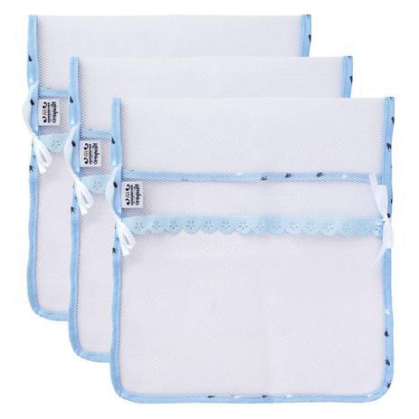 Imagem de Kit 3 Saquinhos Maternidade Minasrey Reininho Encantado Azul