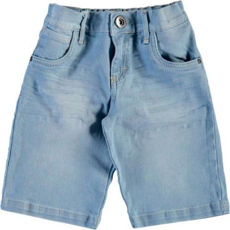 Imagem de Kit 3 Short Bermuda Masculina Jeans Sarja Infantil Juvenil