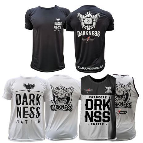 85cd68f80b Kit 3x Camisetas Regatas Darkness Integralmedica Empire - Integral medica