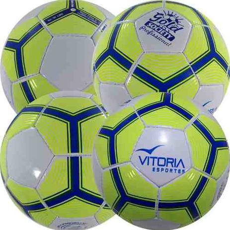 Kit 4 Bola Futebol Sete Society Profissional Adulto Oficial - Vitoria  esportes 93a4f55e65b84