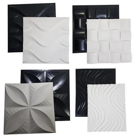 Imagem de Kit 4 Formas Gesso/cimento Abs Envio Imediato Lindíssimos