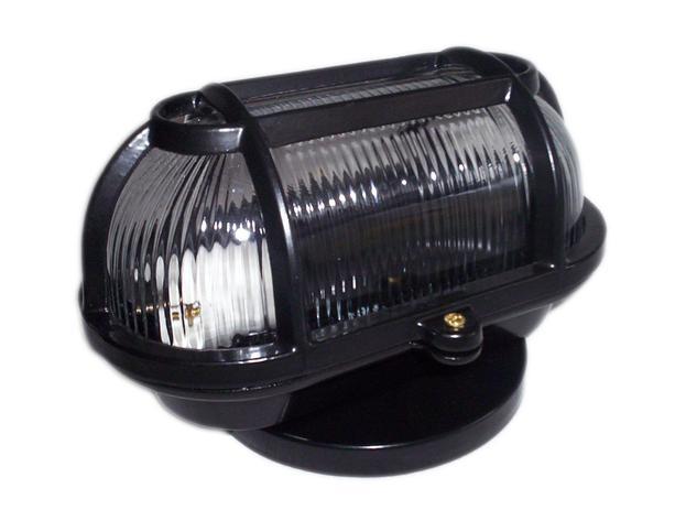 Imagem de Kit 4 Luminaria FM cod 501 Tartaruga Aluminio Vidro Transp Preto