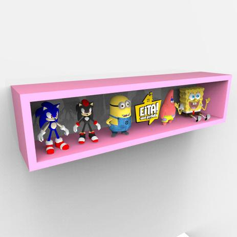 Imagem de KIT 4 Nichos Varias Cores Organizador Coleções e Brinquedos 60cm