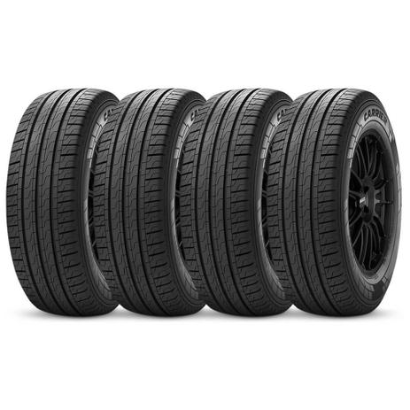 Imagem de Kit 4 Pneu Pirelli Aro 16 225/65r16 112r Carrier