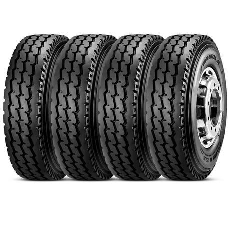 Imagem de Kit 4 Pneu Pirelli Aro 20 10.00r20 146/143k Tt M+S Formula Driver G