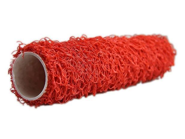 Imagem de Kit 4 Unidades Rolo Textura Rustica 23cm Cabelinho De Anjo
